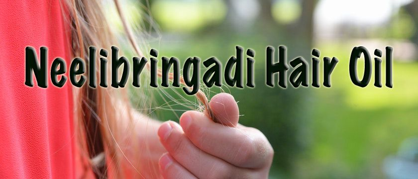 Neelibringadi hair oil