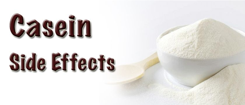 casein side effects
