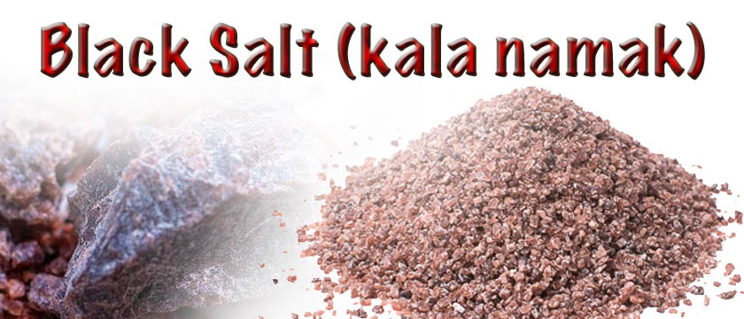 black salt (kala namak)